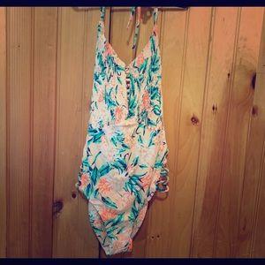 One piece Tori Praver bathing suit M